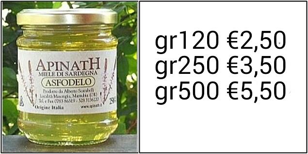 miele di asfodelo - sardegna ESCAPE='HTML'