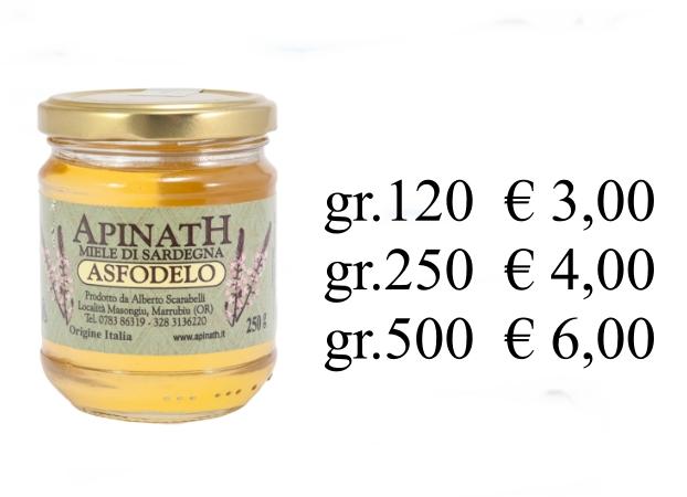 miele di asfodelo prezzo ESCAPE='HTML'