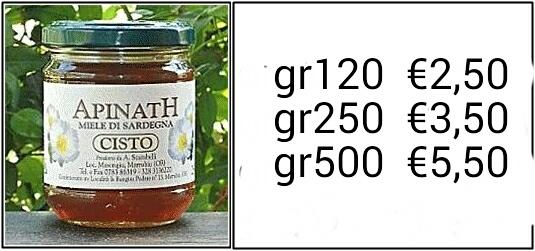 miele di cisto- sardegna ESCAPE='HTML'