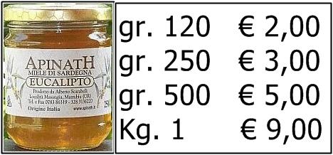 miele di eucalipto ESCAPE='HTML'