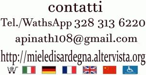 contatti apinath contacts ESCAPE='HTML'