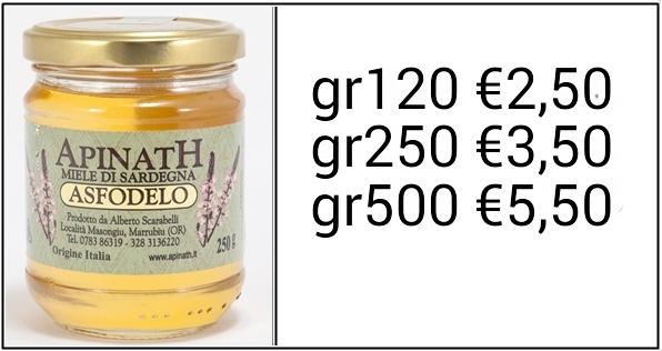 costo miele di asfodelo sardegna ESCAPE='HTML'