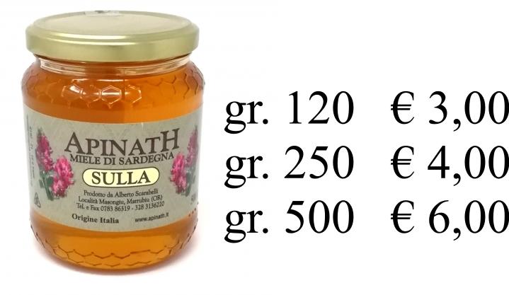 miele di sulla sardo prezzo ESCAPE='HTML'